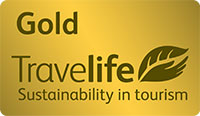 Kissos Hotel Paphos was awarded the TravelLife Sustainability Policy in Tourism Bronze Award in May 2013